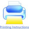 Printing Instructions